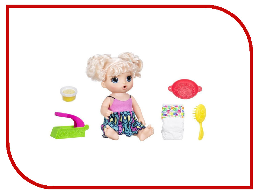 Игрушка Hasbro Baby Alive Малышка хочет есть C0963 hot sale kruk chair taburetes elephant stools for shoes designer furniture sofa animal personality fabric modern stool chair