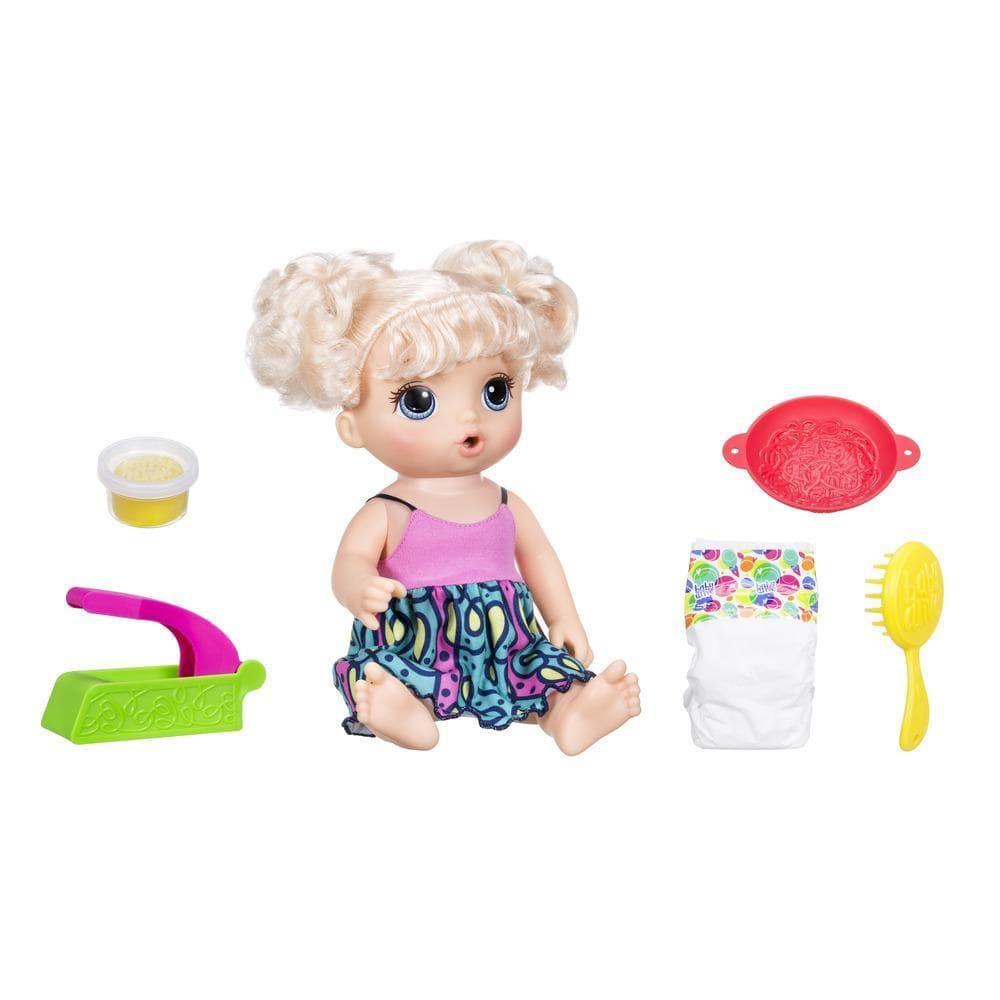 Игрушка Hasbro Baby Alive Малышка хочет есть C0963