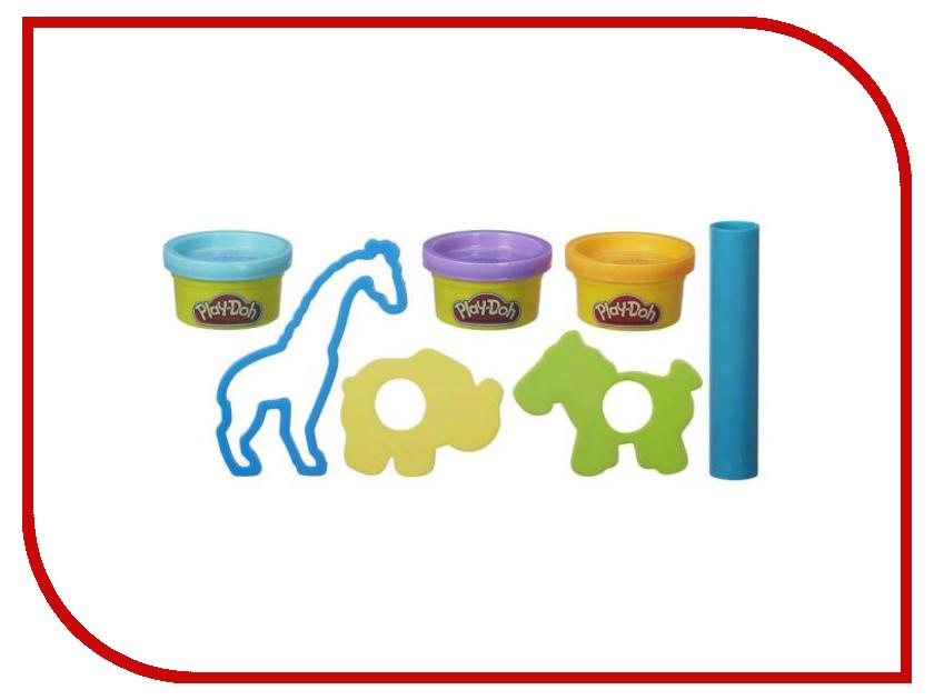 Игрушка Hasbro Play-Doh Набор Зоопарк B4159 hasbro игровой набор главная улица play doh город