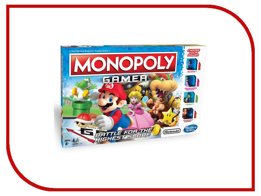 Игрушка Hasbro Games Монополия Геймер C1815 hasbro games классическая монополия обновленная c1009121