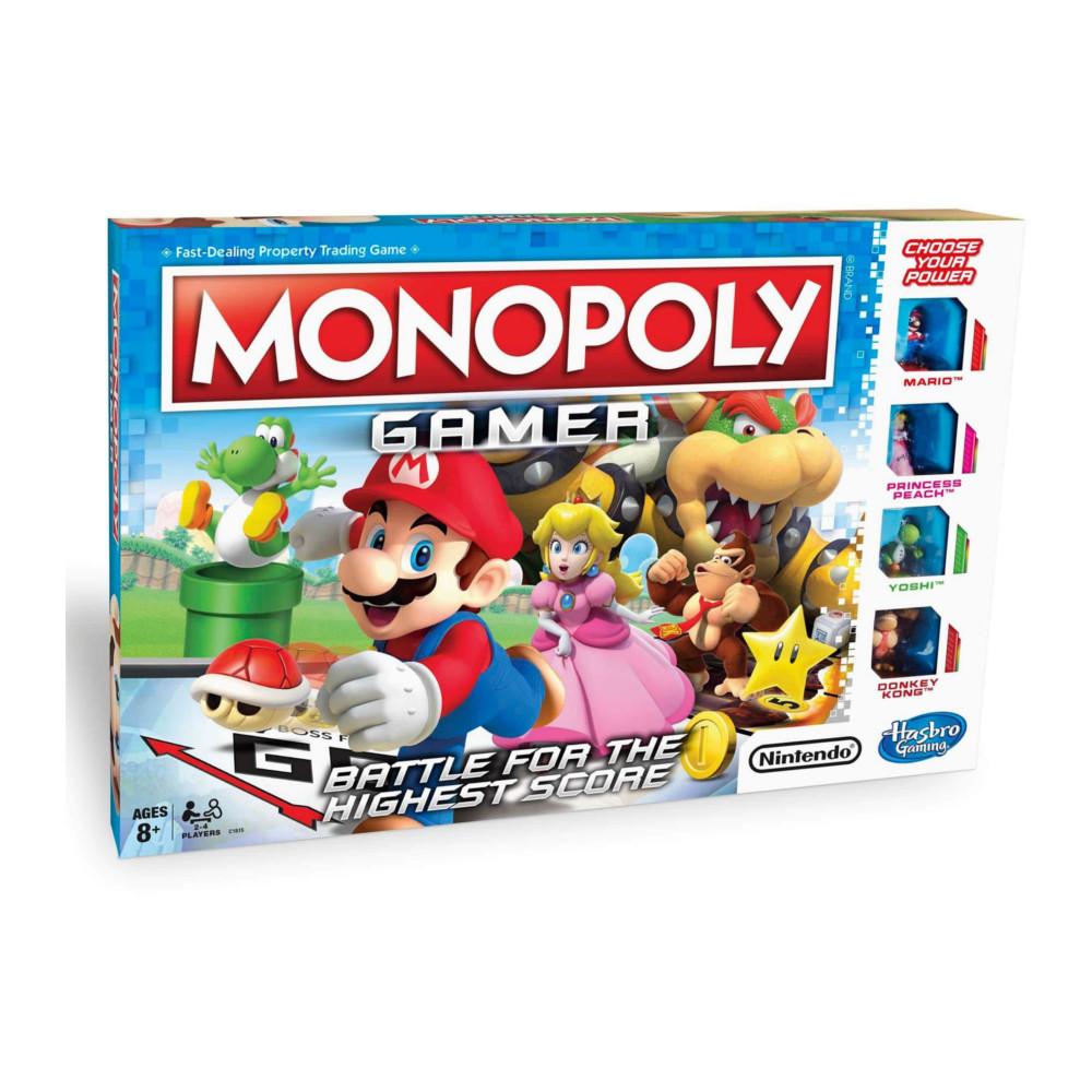 Игрушка Hasbro Games Монополия Геймер C1815 игрушка монополия с картами hasbro games