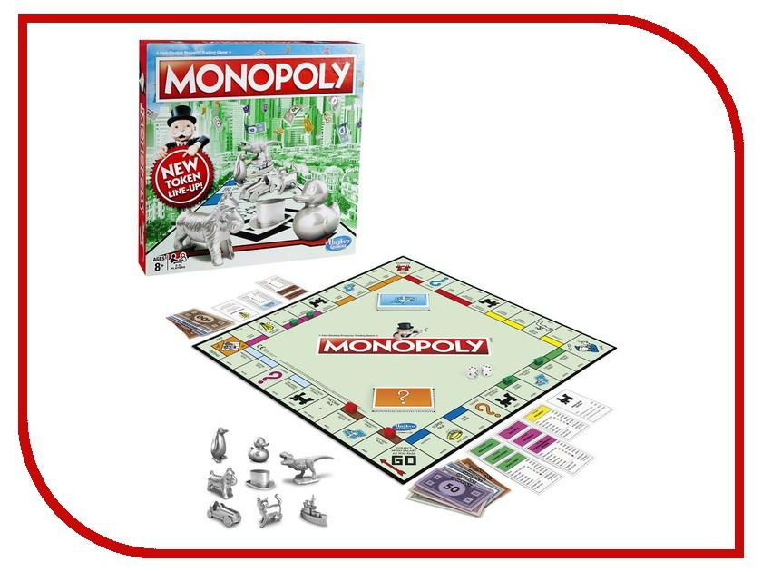 Игрушка Hasbro Games Монополия Классическая Обновленная C1009 hasbro hasbro настольная игра games классическая монополия