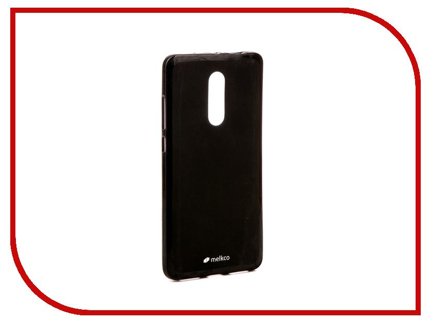 Аксессуар Чехол Xiaomi Redmi Note 4 / Note 4X Melkco Silicone TPU Mat Black 13497 аксессуар чехол накладка samsung galaxy note 5 melkco transparent mat 8165