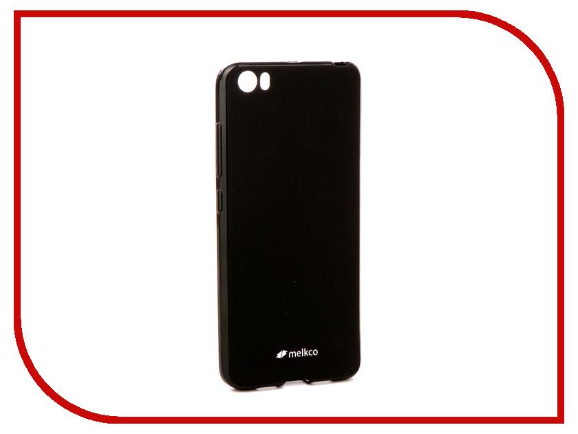 Аксессуар Чехол Xiaomi Mi5 Melkco Silicone TPU Mat Black 12824