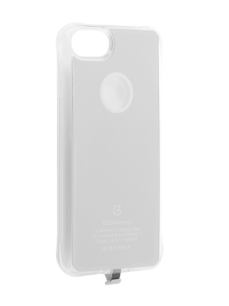 Аксессуар Чехол GZ Electronics для APPLE iPhone 6 / 6s 7 / 7s Silver GZ-ACI7 jvc gz r315be