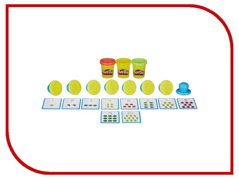 Игрушка Hasbro Play-Doh Набор Числа и счет B3406 play doh игровой набор магазинчик домашних питомцев