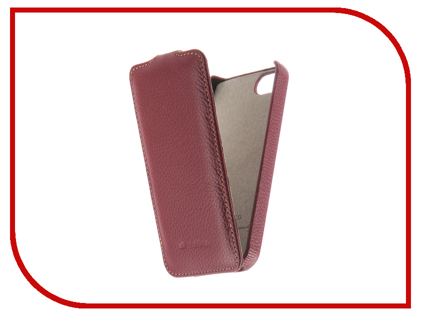 Аксессуар Чехол Melkco для APPLE iPhone 5S/SE Purple 3028 аксессуар чехол ibox blaze для apple iphone 5 5s se pink