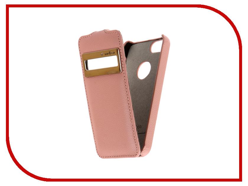 Аксессуар Чехол Melkco с окном для APPLE iPhone 5S/SE Pink 3210 полупьедестал laufen 1995 1 000 000 1 pro