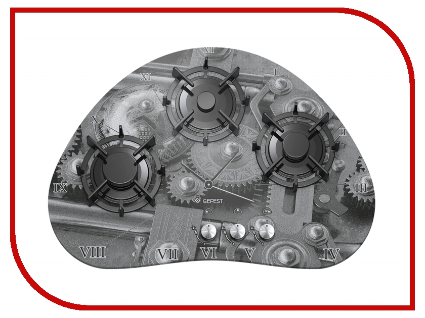 Варочная панель Gefest CH 2120 K1 минипечь gefest пгэ 120 пгэ 120