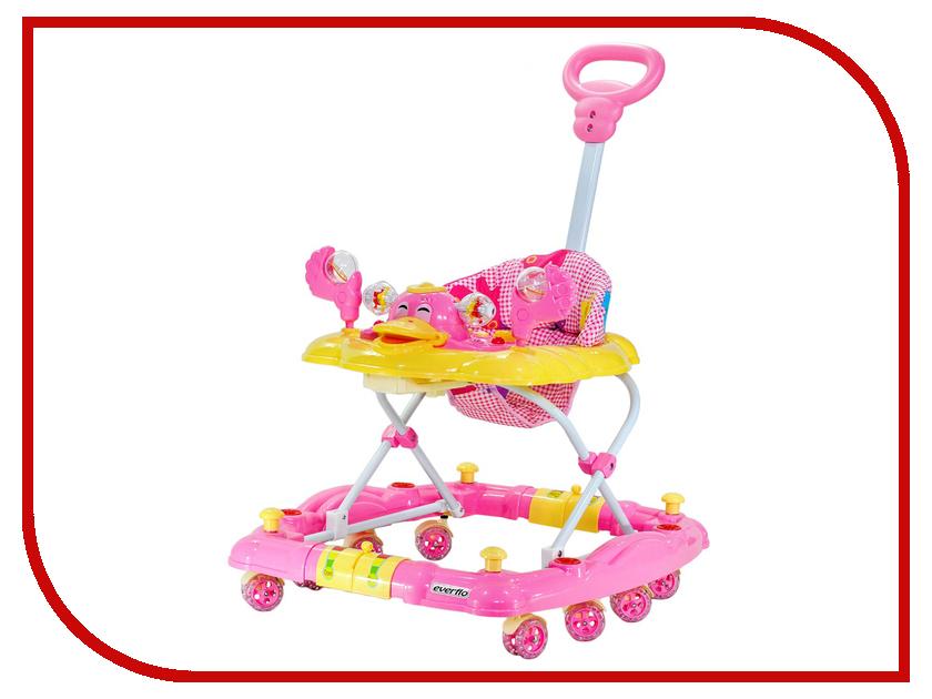 Ходунки Everflo Утенок Pink WT413