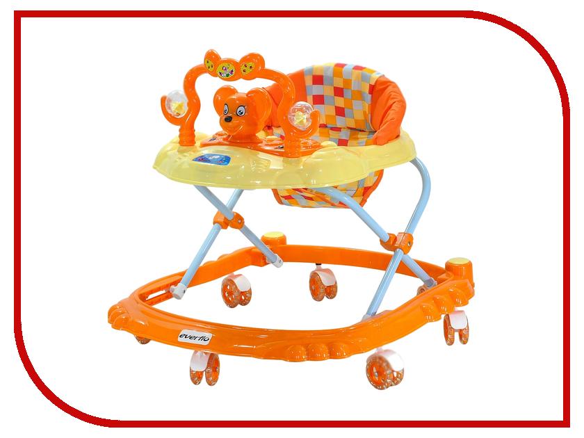 Ходунки Everflo Мышонок Orange W403