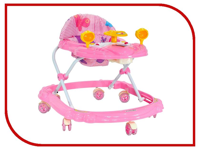 Ходунки Everflo Машинка Pink WT410