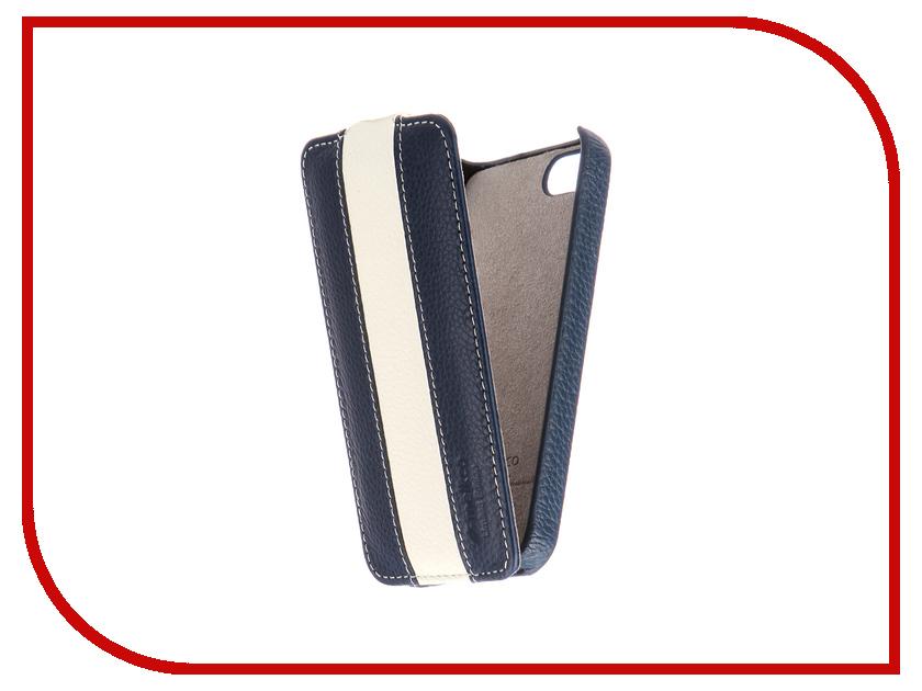 Аксессуар Чехол Melkco LE для APPLE iPhone 5S/SE Blue-White 3033