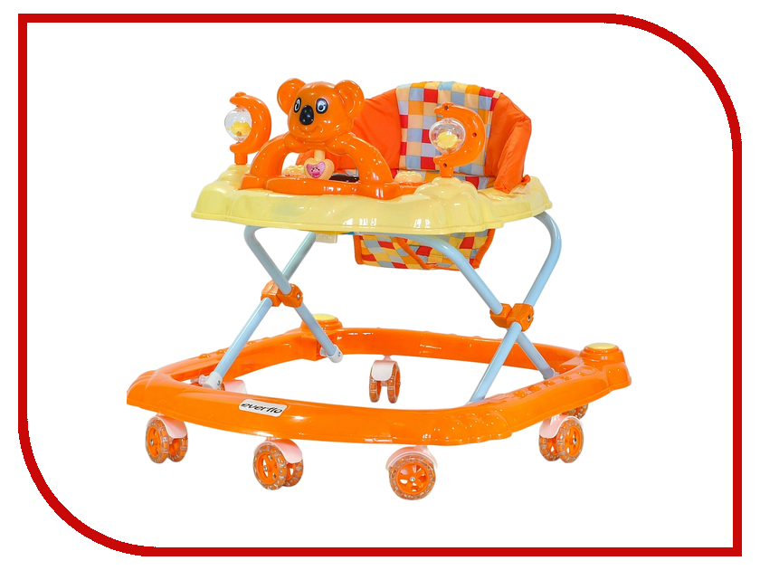 Ходунки Everflo Коала Orange W405