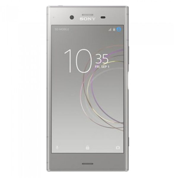 Сотовый телефон Sony G8342 Xperia XZ1 Silver чехол для sony g8342 xperia xz1 zibelino ultra thin case прозрачный
