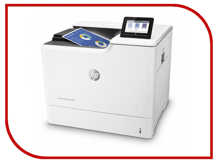 Принтер HP Color LaserJet Enterprise M653dn J8A04A hewlett packard hp color laserjet enterprise m750n d3l08a