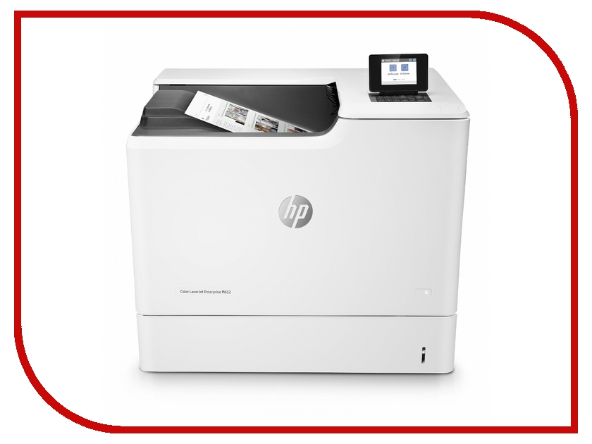 Принтер HP Color LaserJet Enterprise M652dn J7Z99A hewlett packard hp color laserjet enterprise m750n d3l08a