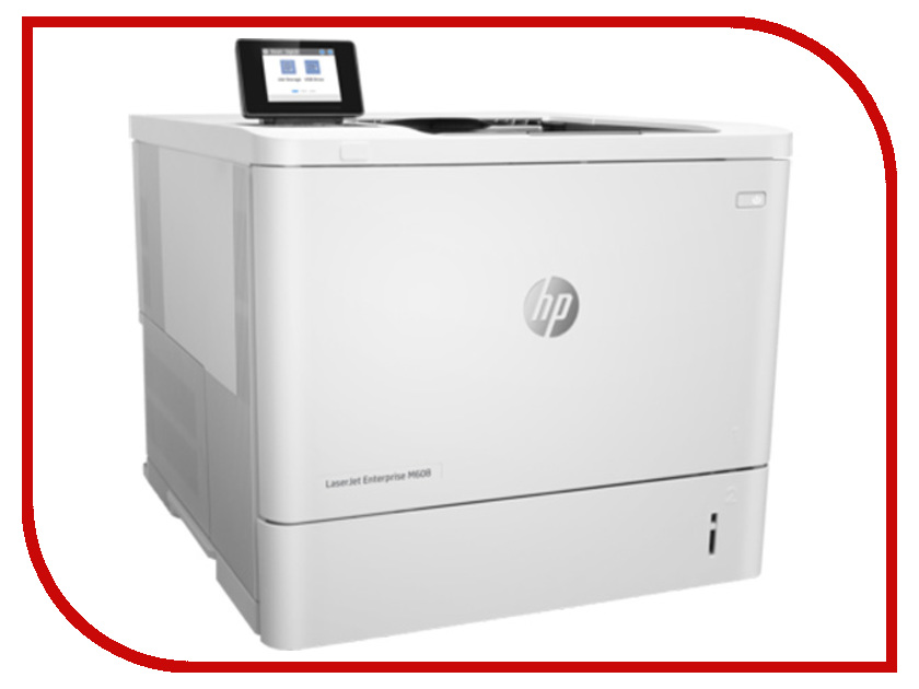 Принтер HP LaserJet Enterprise M608n K0Q17A hewlett packard hp лазерный мфу печать копирование сканирование