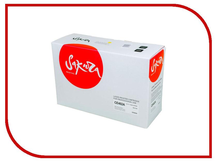 Картридж Sakura Yellow для HP Enterprise 500 Color M551n/525f/525dn/570/575f 6000к тонометры a&d тонометр запястный a&d ub 402
