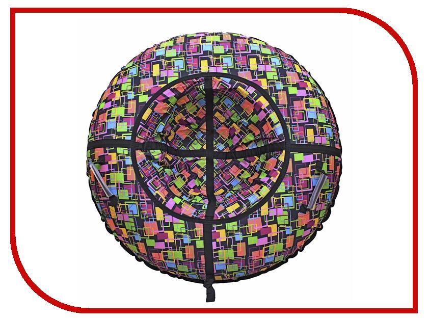 Тюбинг RT Разноцветные окна 118см