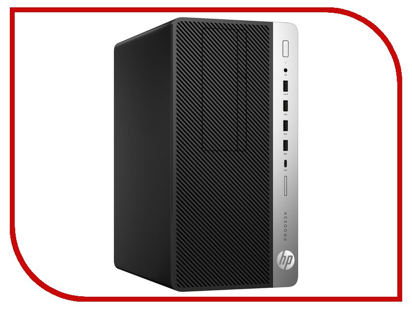 Настольный компьютер HP ProDesk 600 G3 Black 1HK57EA (Intel Core i5-7500 3.4 GHz/4096Mb/256Gb SSD/DVD-RW/Intel HD Graphics/Windows 10 Pro 64-bit) настольный пк hp prodesk 400 g3 mini 1ex81ea 1ex81ea