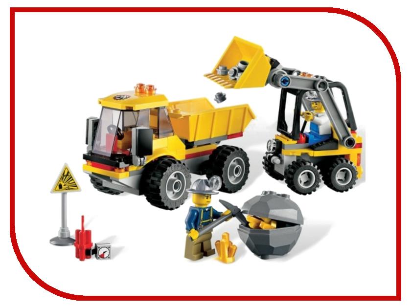 Конструктор Lego City Погрузчик и самосвал 4201 lego technic 42084 лего техник погрузчик
