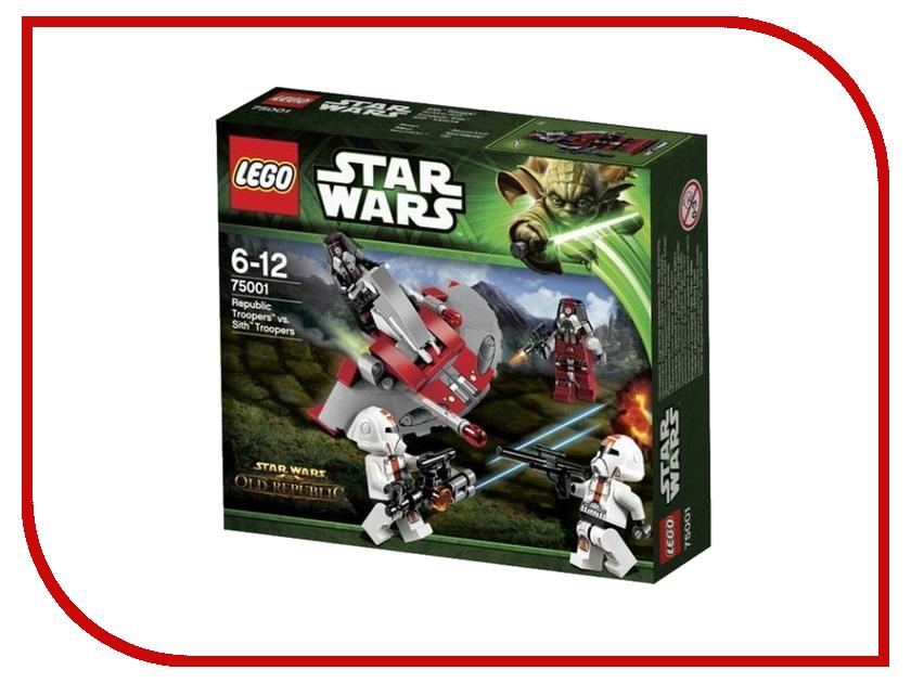 Конструктор Lego Star Wars Солдаты Республики против воинов Ситхов 75001