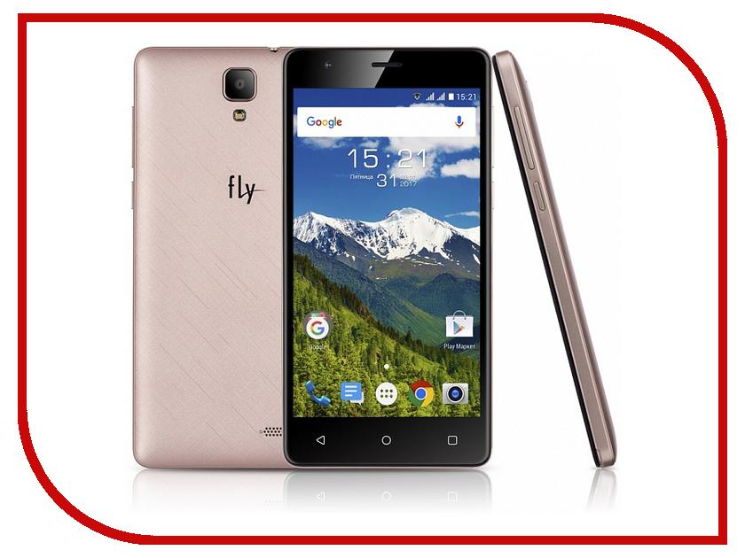 Сотовый телефон Fly FS516 Cirrus 12 LTE Champagne сотовый телефон fly fs512 nimbus 10 champagne gold