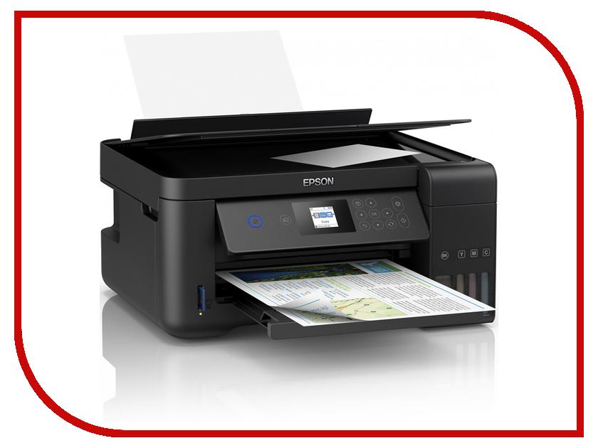 МФУ Epson L4160 C11CG23403 принтер струйный epson l312