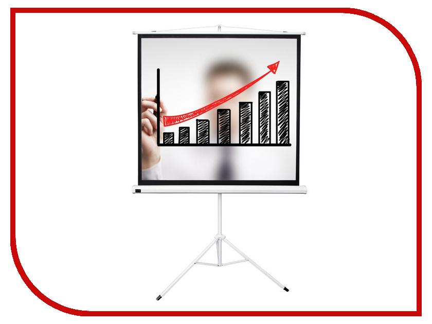 Экран Sakura Cinema 200x200cm TriScreen White SCPST-200x200 экран classic solution scutum 200x200cm w 200x200 1 mw ls t