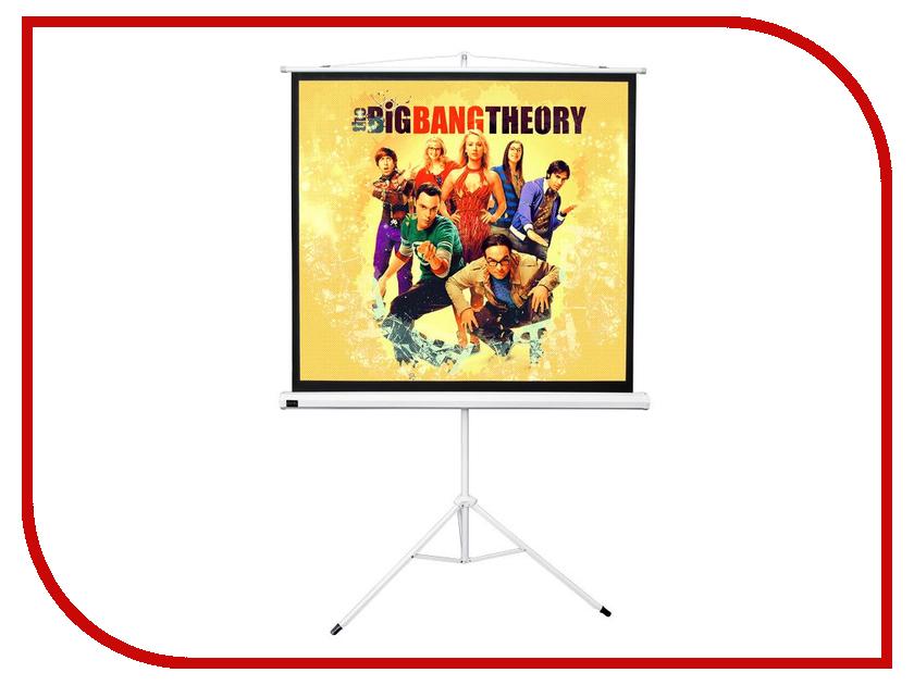 Экран Sakura Cinema 158x158cm TriScreen White SCPST-158x158