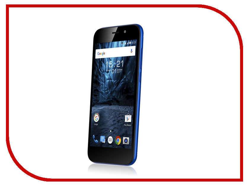 Сотовый телефон Fly FS527 Nimbus 17 Blue смартфон fly fs527 nimbus 17 black