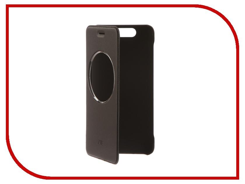 Аксессуар Чехол ZTE Blade V8 Smart Cover Black skinbox lux чехол для zte blade s6 black