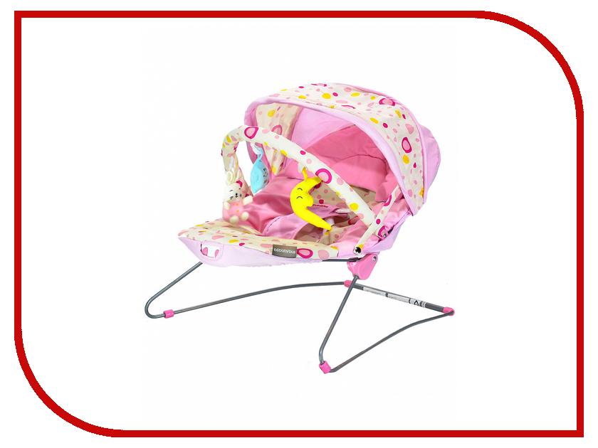 Кресло-шезлонг Everflo Baby Bouncer Bebabybus UC42 Pink