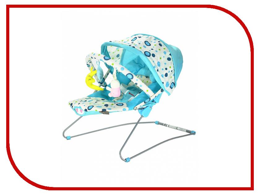 Кресло-шезлонг Everflo Baby Bouncer Bebabybus UC42 Blue