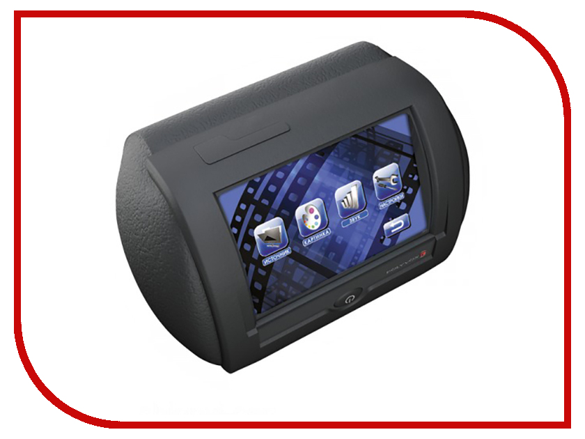 Монитор в авто Polyvox PAV-D10A Black