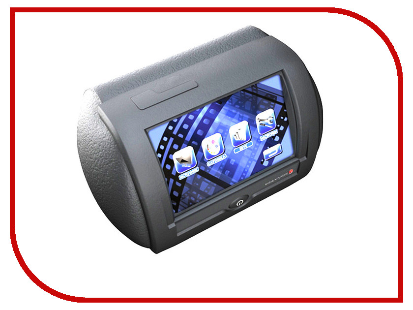 Монитор в авто Polyvox PAV-T20B Grey монитор в авто acv avm 1716 grey