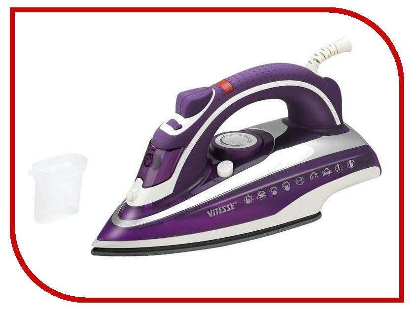 Утюг Vitesse VS-688 Purple vitesse vs 688 black утюг
