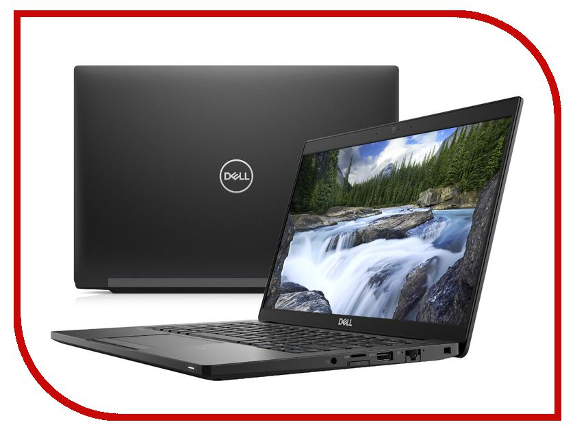 Ноутбук Dell Latitude 7380 7380-5052 (Intel Core i5-7200U 2.5 GHz/8192Mb/256Gb SSD/No ODD/Intel HD Graphics/Wi-Fi/Cam/13.3/1920x1080/Windows 10 64-bit), цена и фото