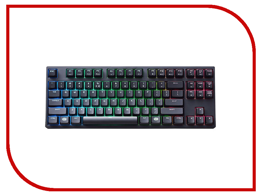 Клавиатура Cooler Master MasterKeys Pro S RGB SGK-6030-KKCR1-RU nils master raptor 75mm 12g 004 s s