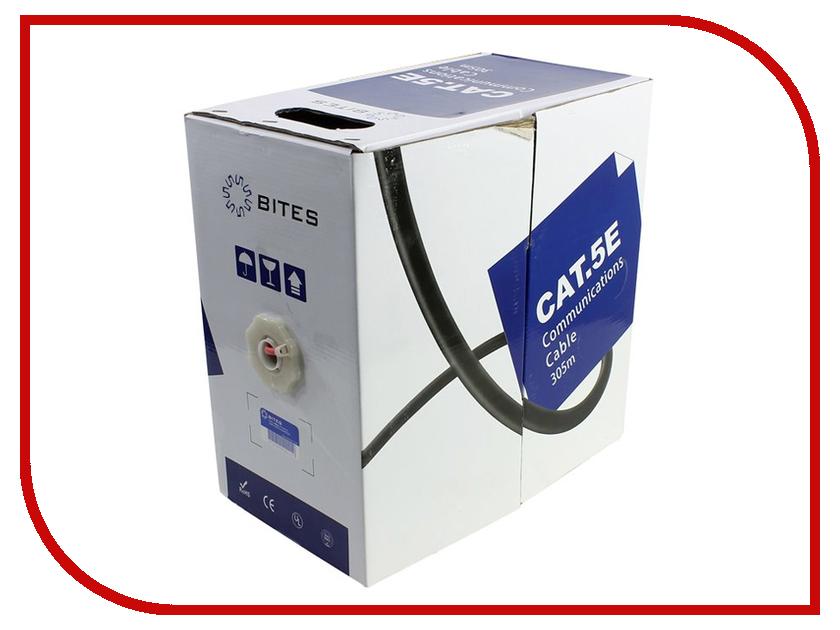 Фото Сетевой кабель 5bites UTP / SOLID / 5E / 24AWG / CCA / PVC / LSZH / RED / 305M US5505-305A-LSZH