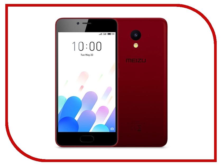 Сотовый телефон Meizu M5C 32Gb Red сотовый