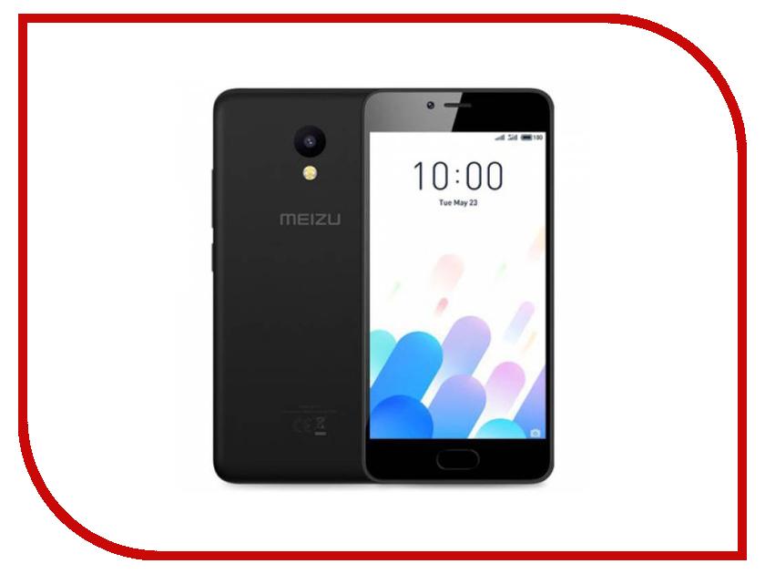 Сотовый телефон Meizu M5C 32Gb Black сотовый телефон philips e311 xenium navy