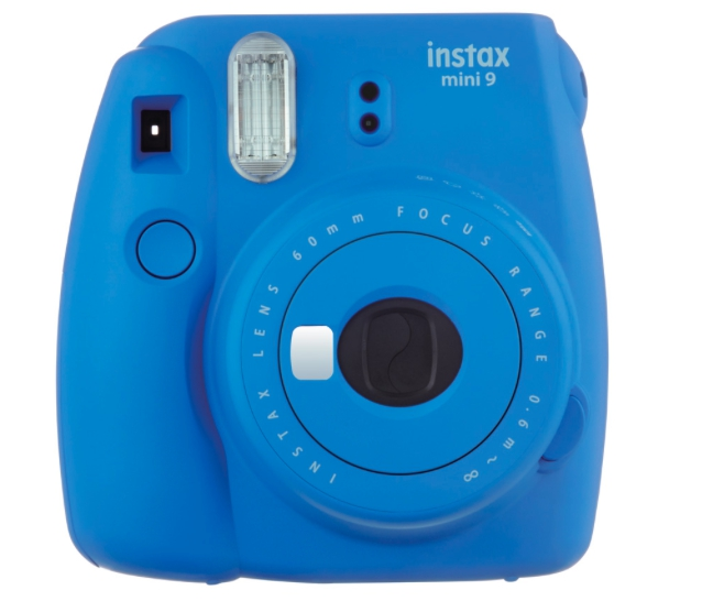 Фото - Фотоаппарат Fujifilm Instax Mini 9 Cobalt Blue Выгодный набор + серт. 200Р!!! фотоальбом fujifilm instax mini 9 twin flip album lime green 70100139056