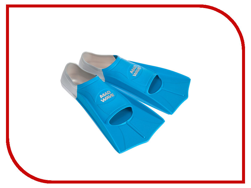 Ласты Mad Wave Training Размер 35-36 Blue M0747 10 3 04W ласты mad wave pool colour long размер 49 51 black m0746 05 9 01w