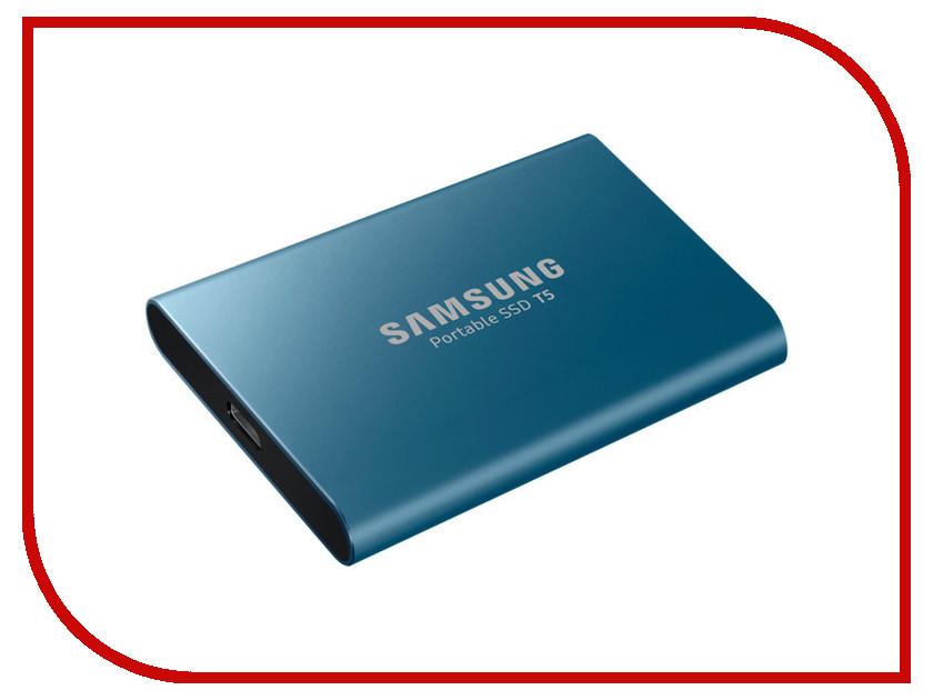 Жесткий диск Samsung Portable SSD T5 500Gb MU-PA500B/WW жесткий диск samsung portable ssd t5 1tb mu pa1t0b ww