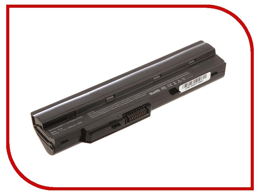 Блок питания 4parts LPB-U100 для MSI Wind U90/U100/U110/U115/U120/U123/U125/U130/U150/U200/U205/U210/U230 11.1V 4400mAh блок питания 4parts lac hp03 hp 18 5v 6 5a 7 4x5 0mm 120w
