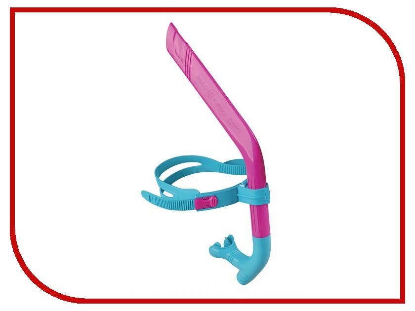 Дыхательный тренажер Mad Wave Pro Snorkel junior Pink/Azure M0777 02 0 11W