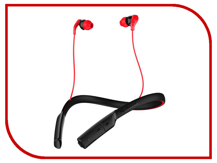 Skullcandy Method Wireless Black-Red-Swirl S2CDW-K605 wireless