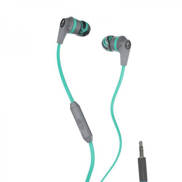 Наушники Skullcandy Ink D 2.0 In-Ear W/Mic Gray-Mint-Gray S2IKJY-528